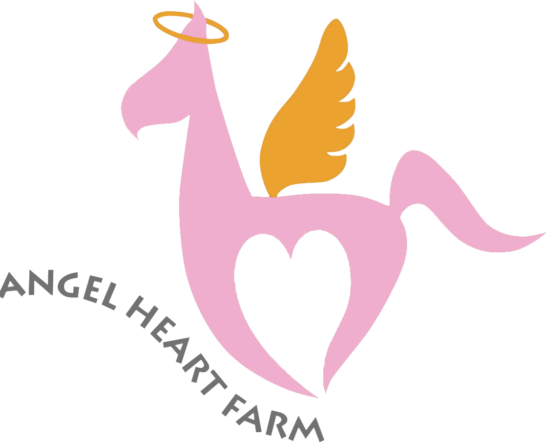 Angel. Heart farm