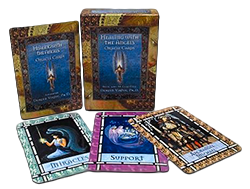 Angel cards png. Whispering spirits card readings