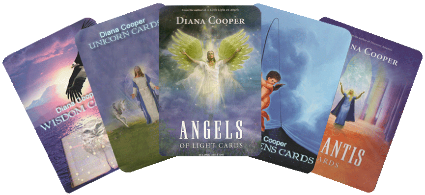 Angel cards png. Diana cooper for children