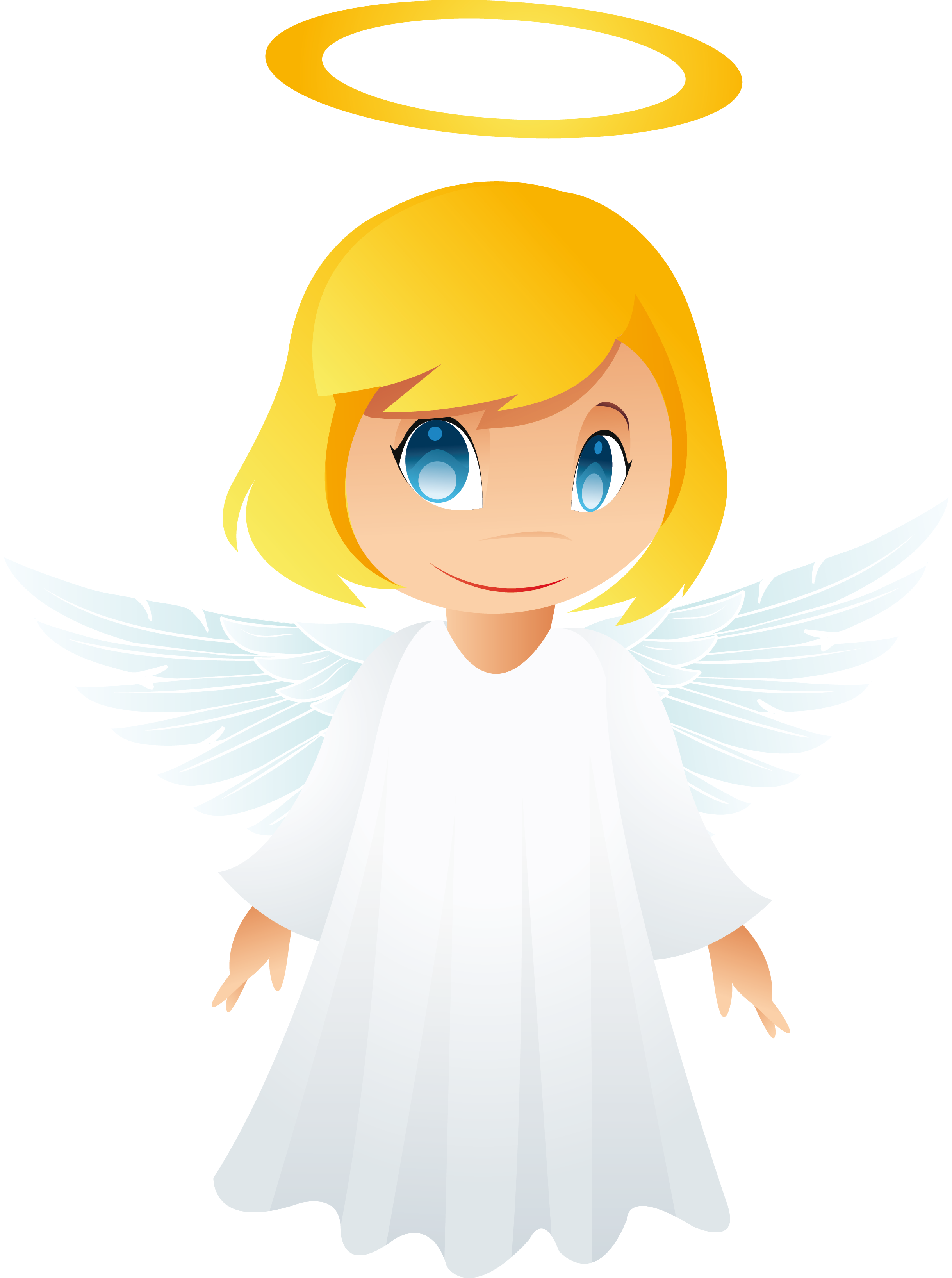 Cartoon angels png