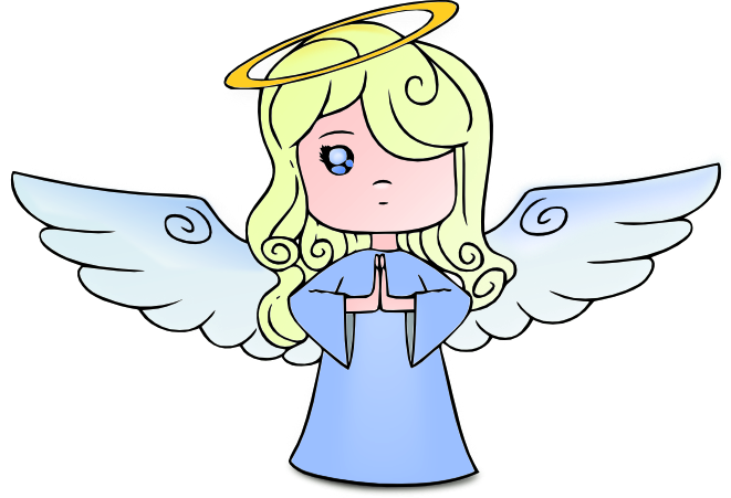 Angels clipart. Angel free graphics of