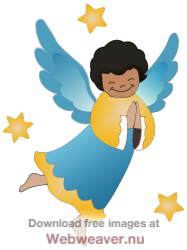 Angel clipart happy. African american angels