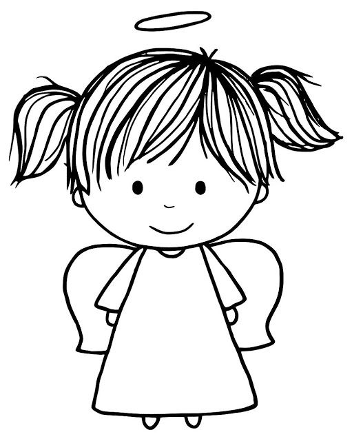Angel clipart happy. World card making