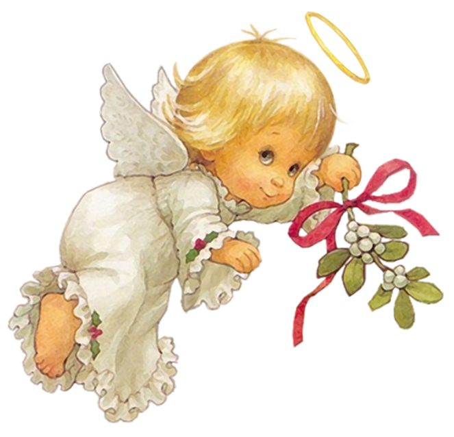 Angels png. Cute christmas angel free