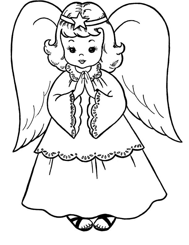 Angel clipart realistic. Drawing at getdrawings com