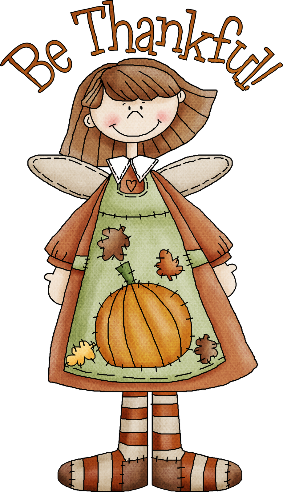 Angel clipart thanksgiving. Thanking god for everything