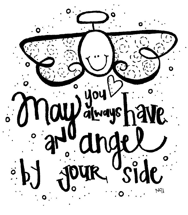Angel clipart word. Angels and bible by