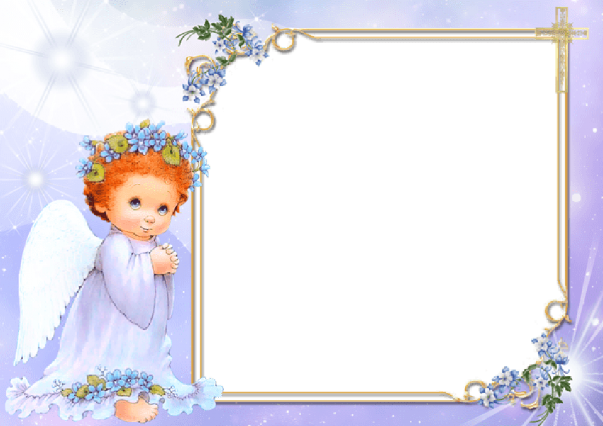 Valentines flower angels frame png. Angel transparent free images