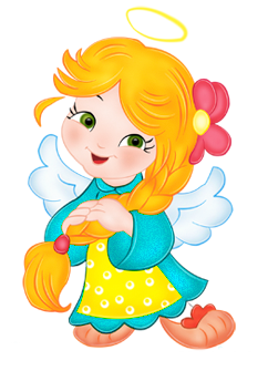 Angel girl png. Cute clipart gallery yopriceville