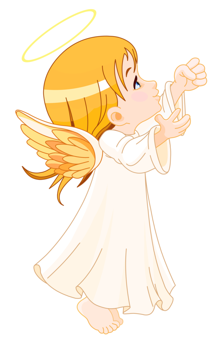 Angel girl png. Cute little large size