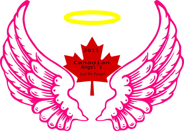 Angel halo wing png. Canadian clip art at