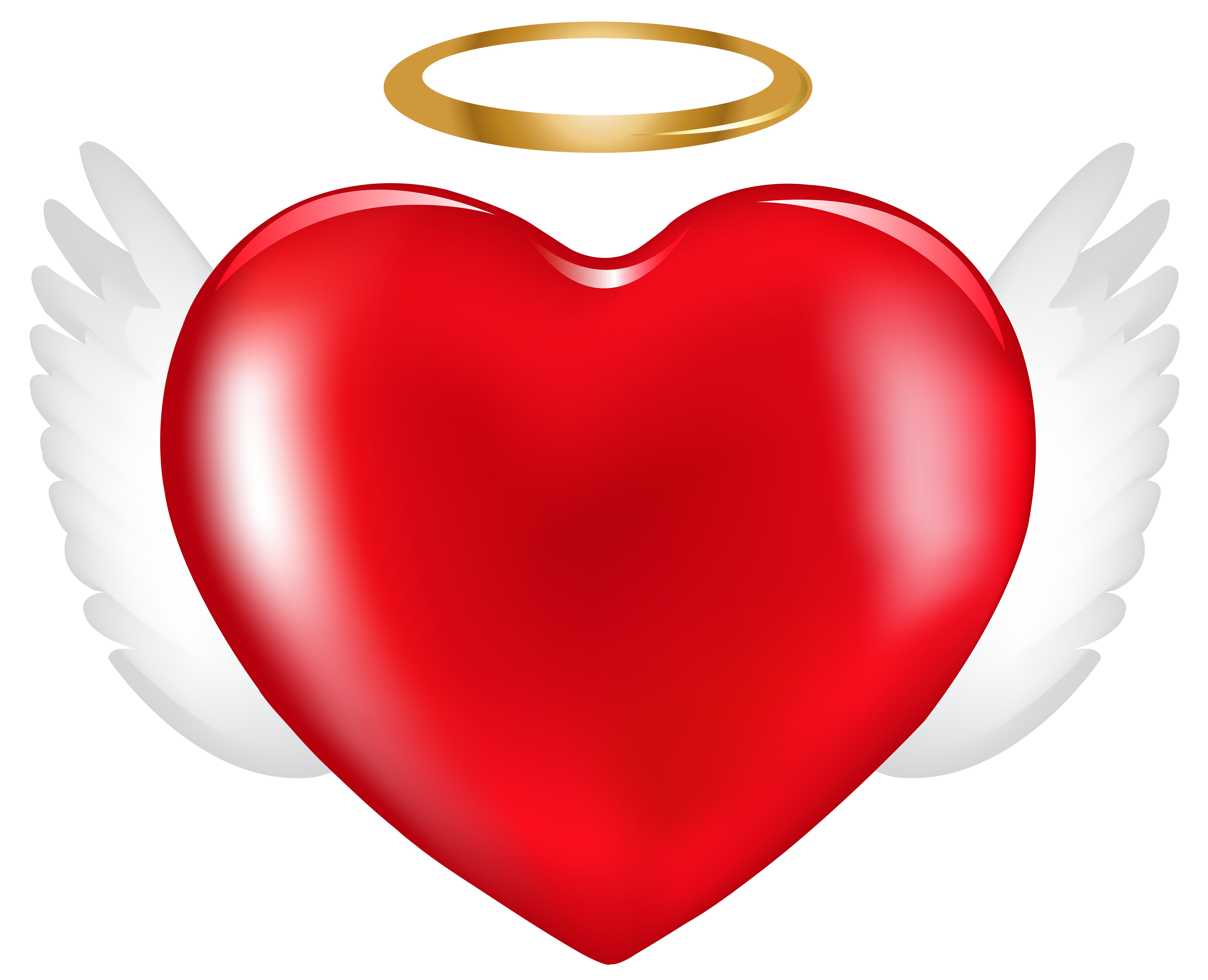 Angel heart clip art. Heart, png clipart graphic free download