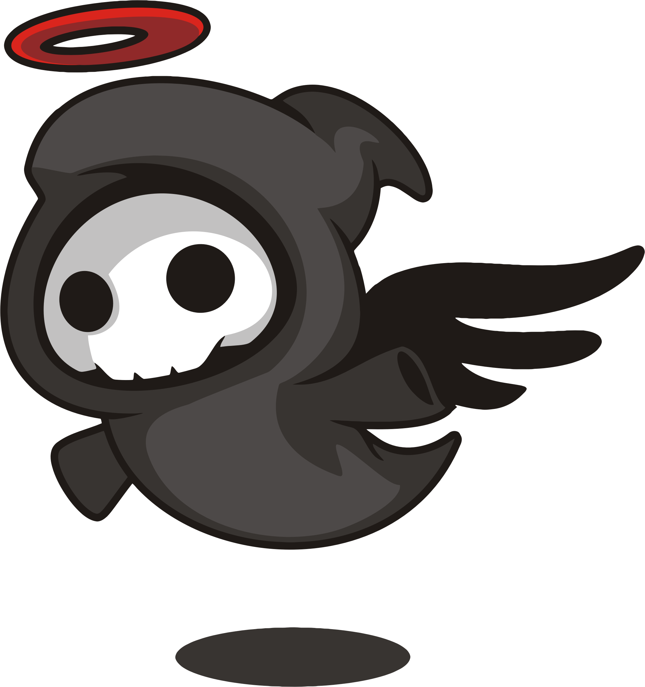 Angel of death png. Cartoon icons free and