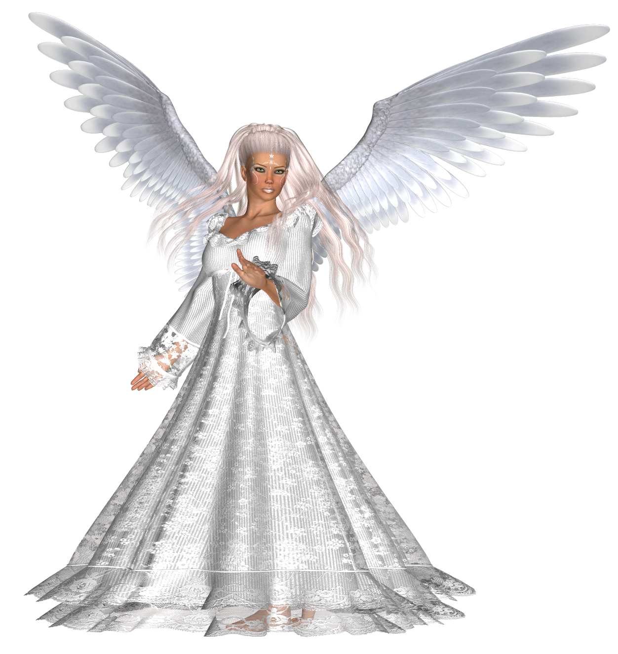 Angel png. Beautiful female clipart gallery