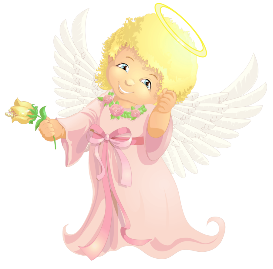 Holiday angels png. Cute angel transparent clipart