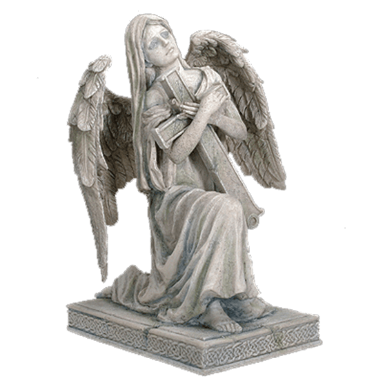 Statue png grief. Lofiel angel sc from