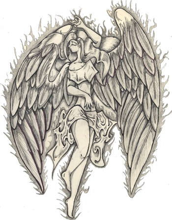 Angel tattoo png. Guardian hd transparent images