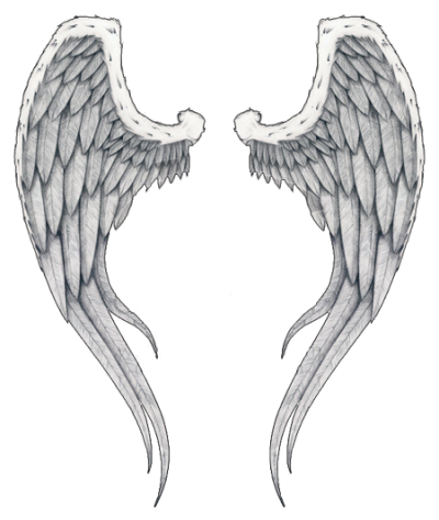 angel wings tattoo png