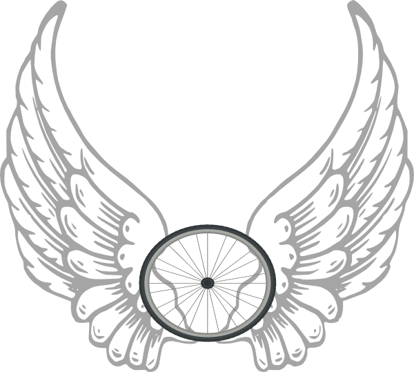 Angel wing vector png. Simple wings template transparent