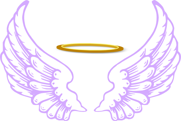 Angel wings and halo png. Clipart at getdrawings com