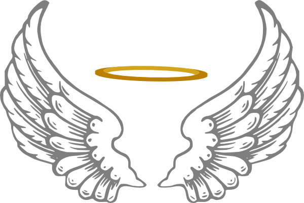 Angel wings and halo png. With hi pinterest angelhalowithwingshipng