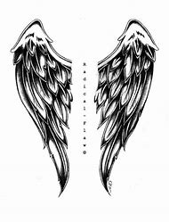 Angel wings drawing. Best drawings ideas and