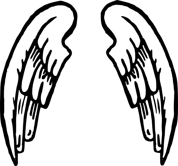 Angel wings drawing png. Tattoo clip art at