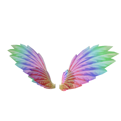 Angel wings for cats png. Image rainbow roblox wikia