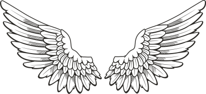 Angel wings png clipart. Images free download