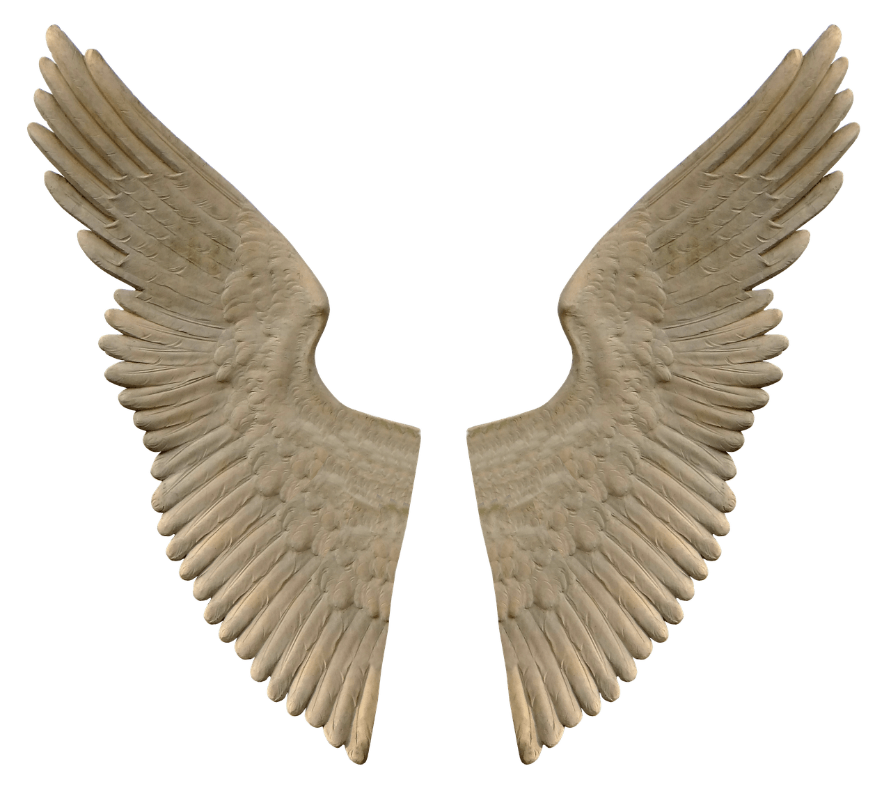 Angel wings transparent stickpng. Stone angels png svg free