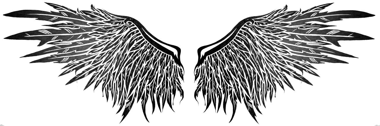 Wings tattoos transparent images. Chest tattoo png graphic free stock