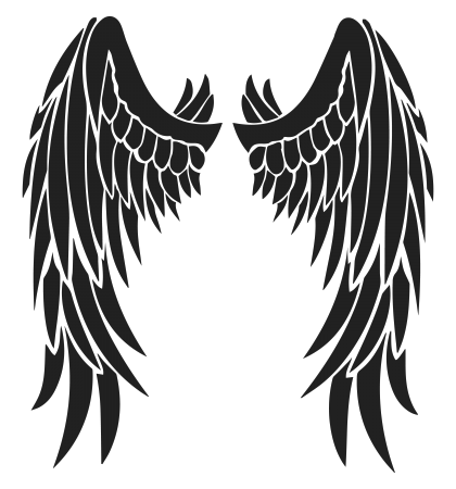 Angel wings tattoo png. Tattoos transparent images pluspng