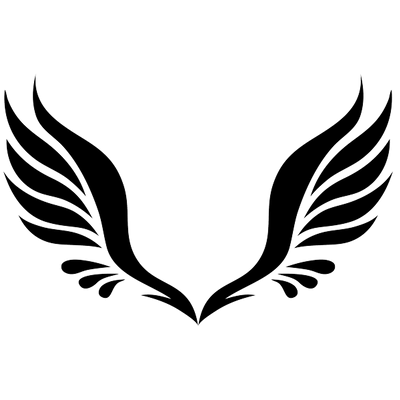 Angel wings vector png. Free download simple tattoo