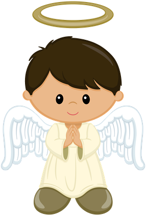 Angel boys minus bautismo. Angels clipart head banner freeuse stock