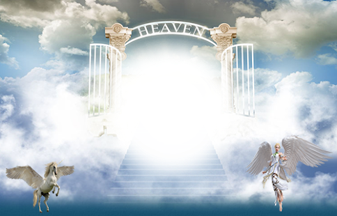 heaven background png