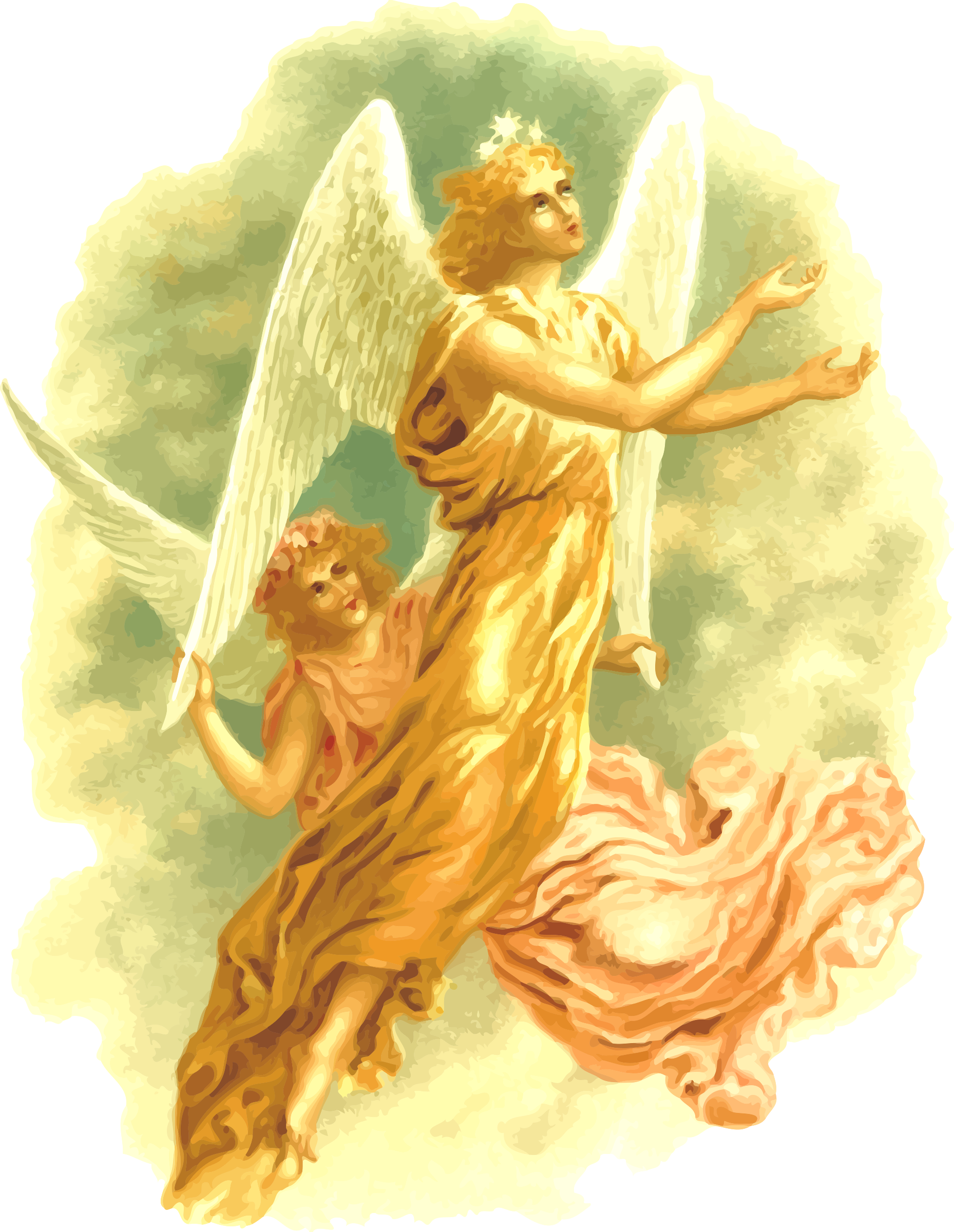 Angels png images. Icons free and downloads