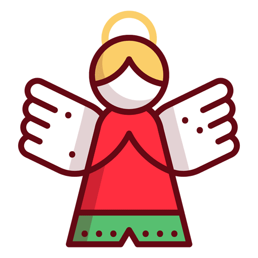 Navidad png vector. Christmas ornament angel transparent