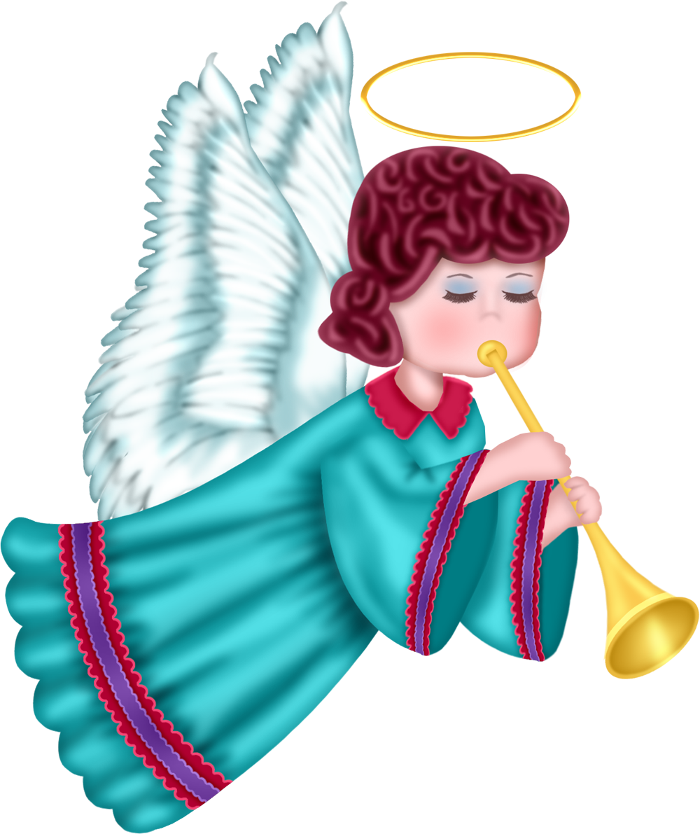 Angels png shepherds. Cute angel with blue