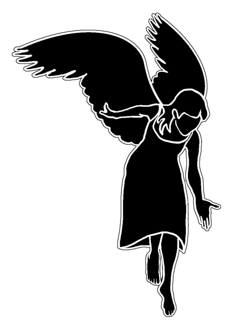 Angels silhouette png. At getdrawings com free