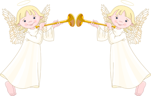 Angels singing png. Collection of clipart