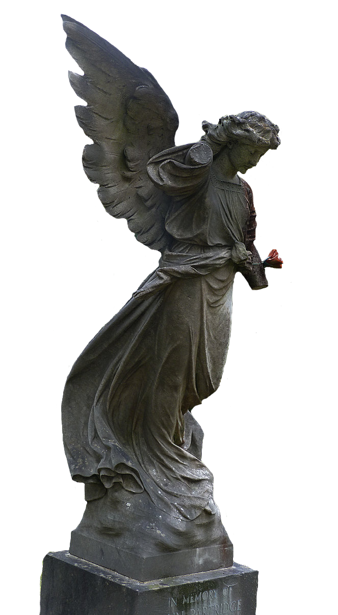Bat statue png. Angel stock by shadow