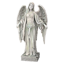 Angel statues figurines and. Stone angels png banner stock