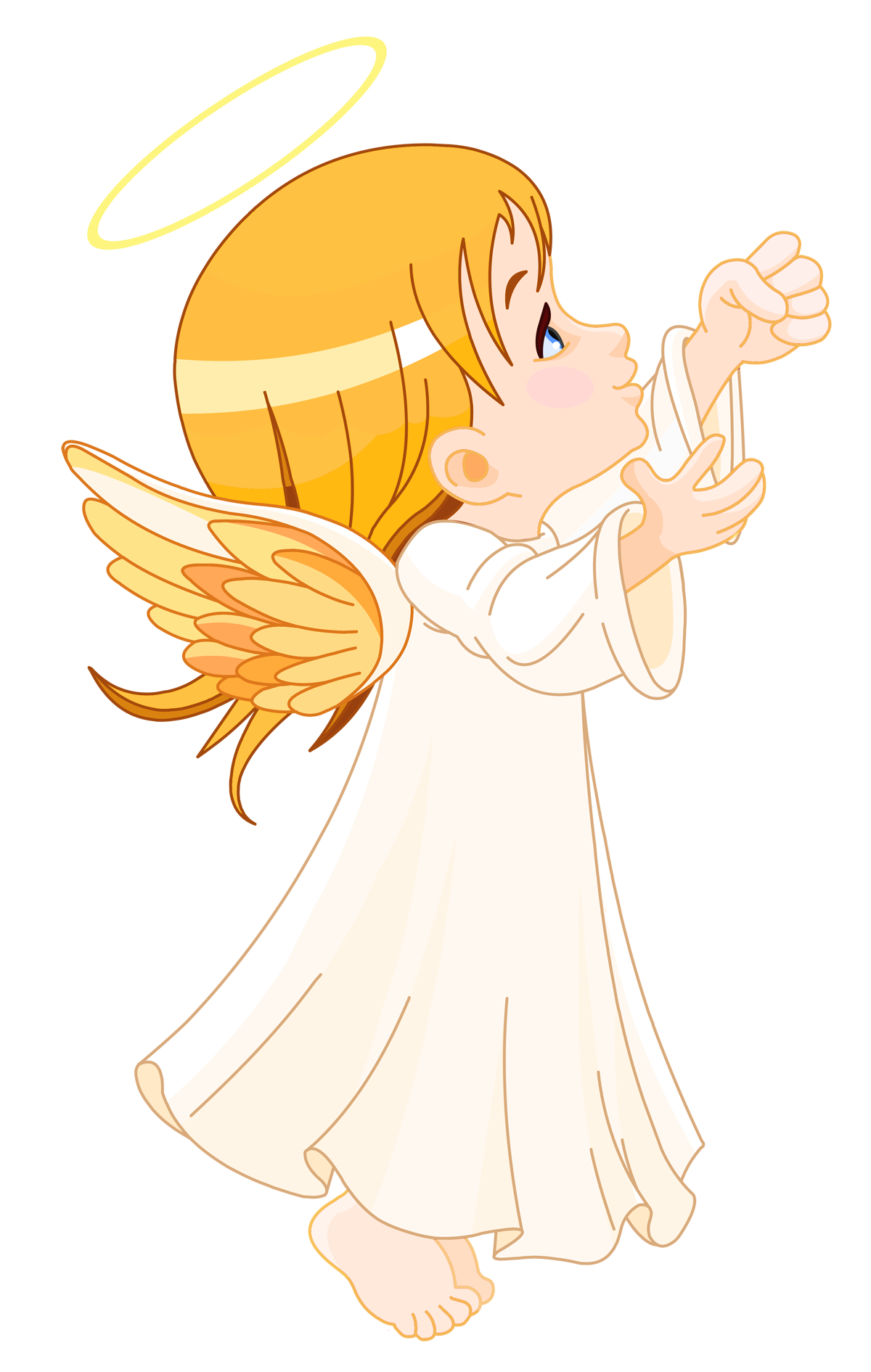 Angel png clipart. Cute little large size
