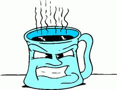 Coffee bing images clutch. Anger clipart anger management png black and white stock