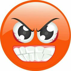 Anger clipart emoji. Angry smiley face emoticons