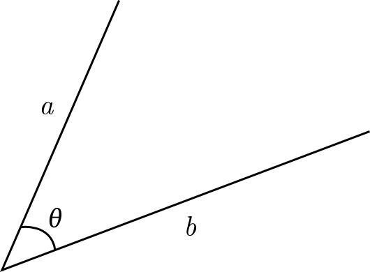 Angle vector. From one to another