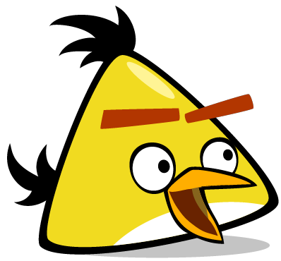 Angry birds png. Image surprised chuck wiki