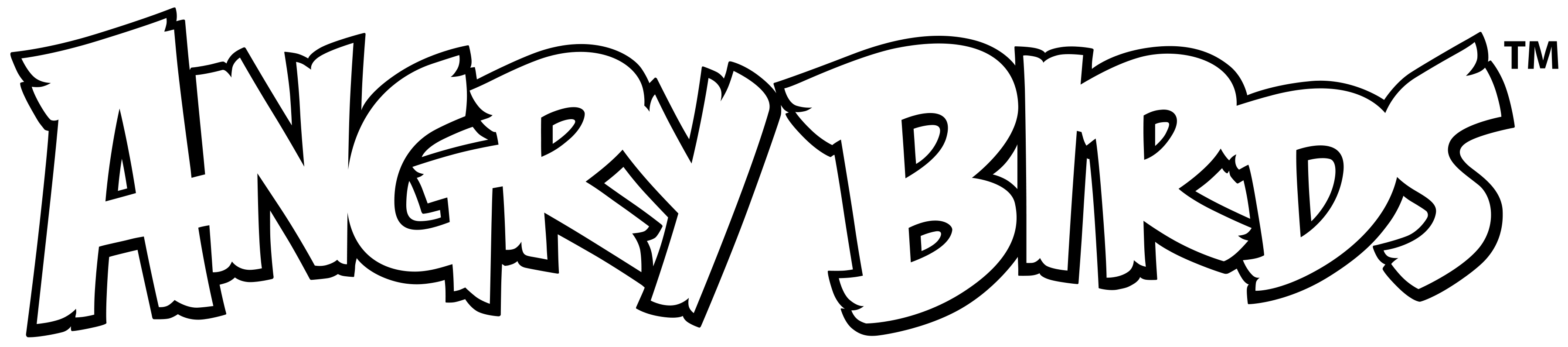 Angry birds movie logo png. By brunomilan on deviantart