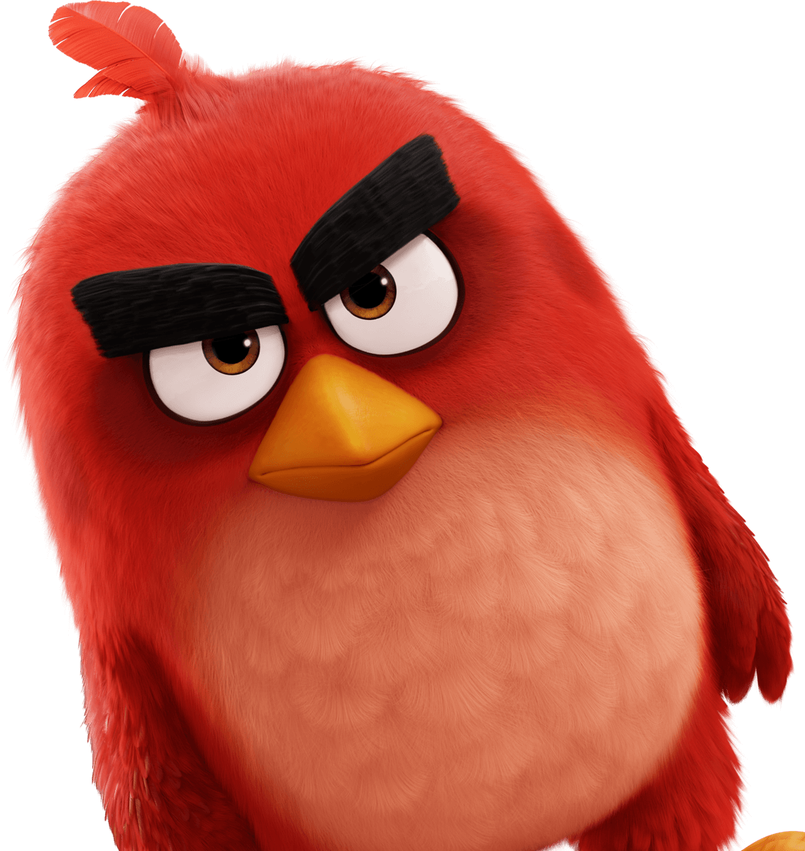 Angry birds movie png. Red image
