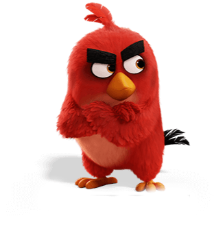 Angry birds red png. Image movie justin quintanilla